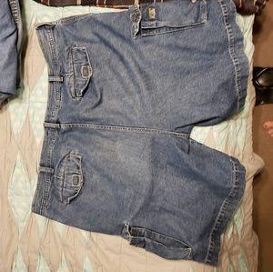 Saddlebred Shorts - Men's cargo shorts size 42